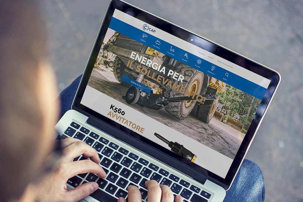 CAP Hydraulic website