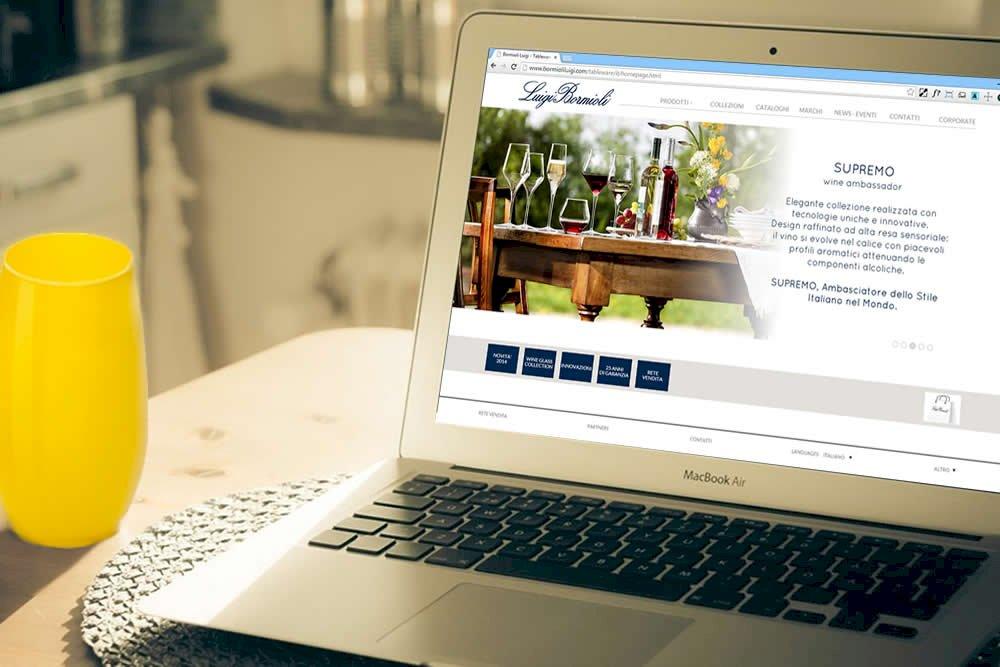Corporate & division website